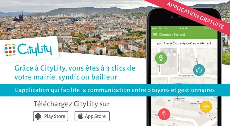 CityLity se lance à Clermont-Ferrand !