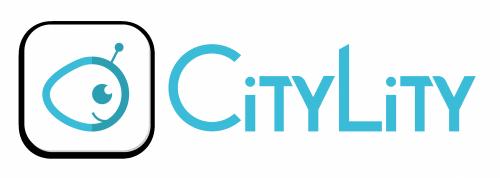 logo mobile bleu