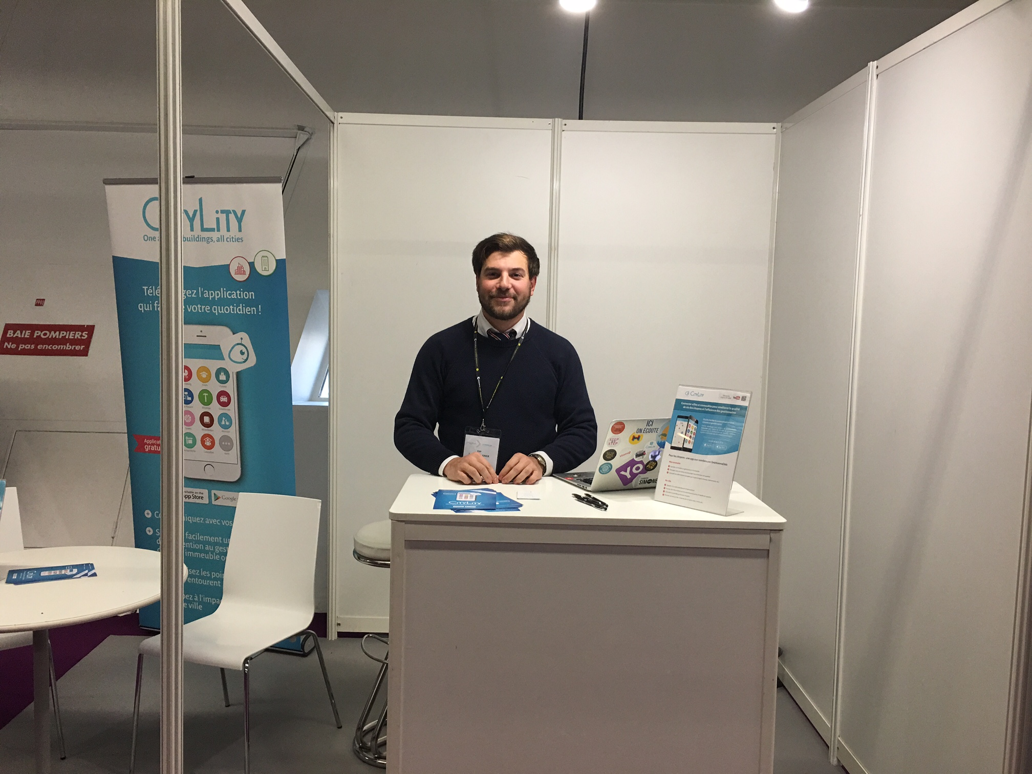 Congrès immobilier stand