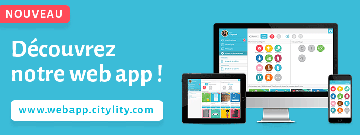 Lancement de la web app CityLity !