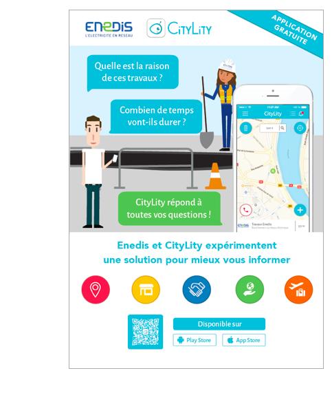 affiche CityLity Enedis