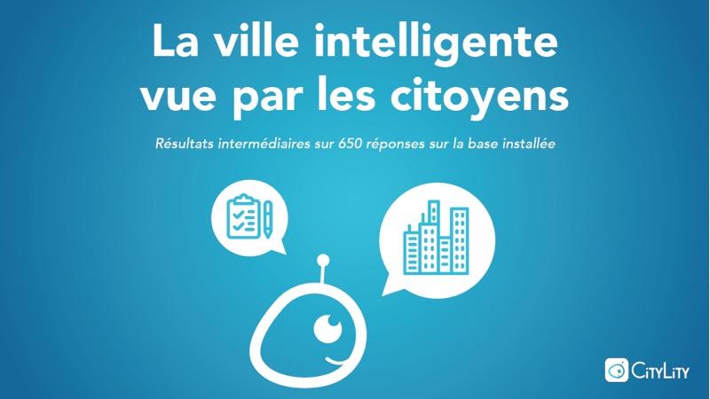 La ville intelligente vue par les citoyens : les résultats du sondage !