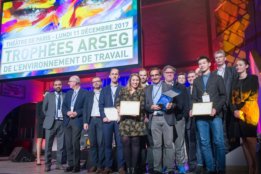 Trophées ARSEG Lauréats scène
