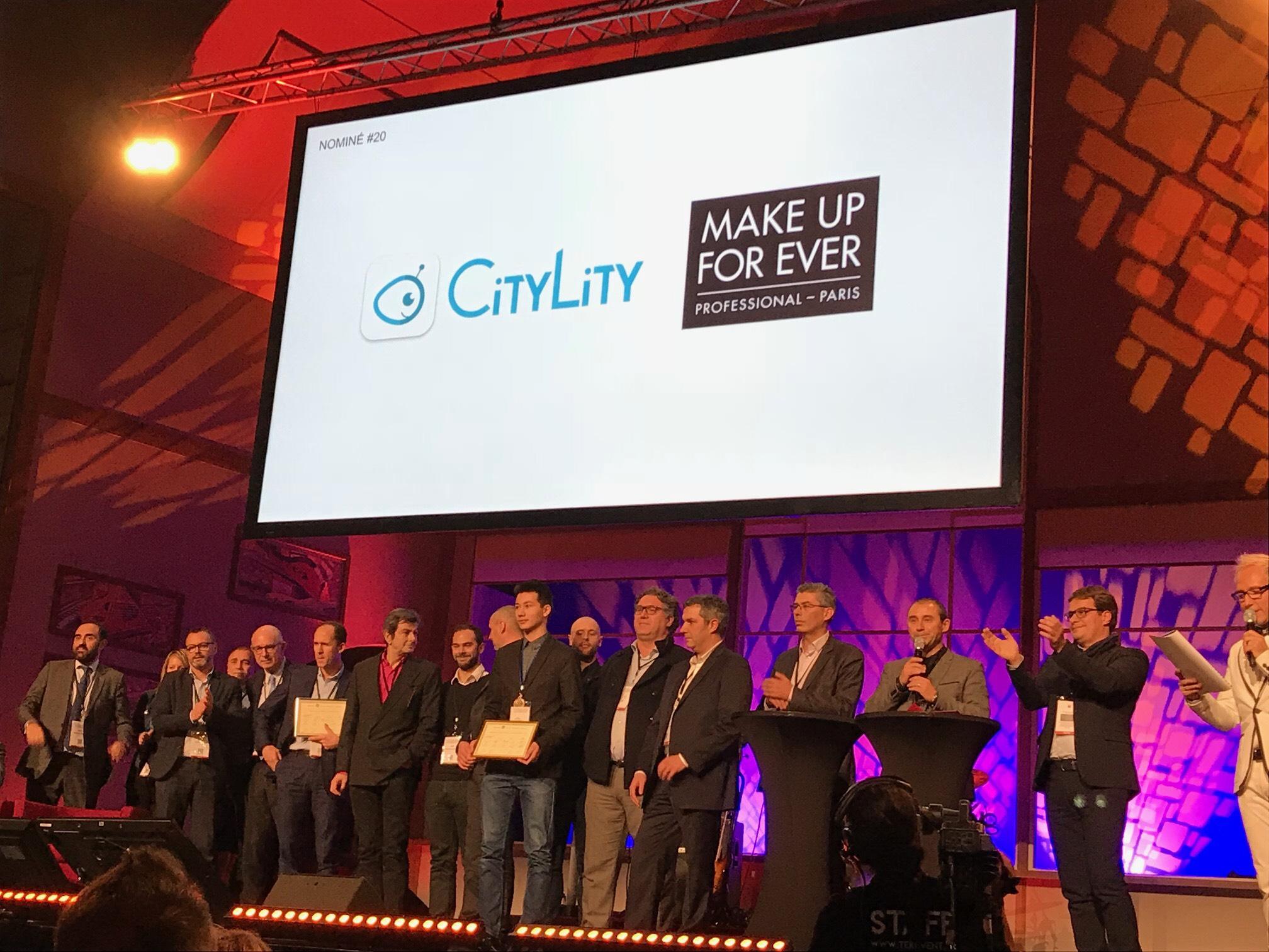 CityLity & Make Up For Ever: lauréats OR du prix de la coopération des trophées ARSEG – Environnement de Travail