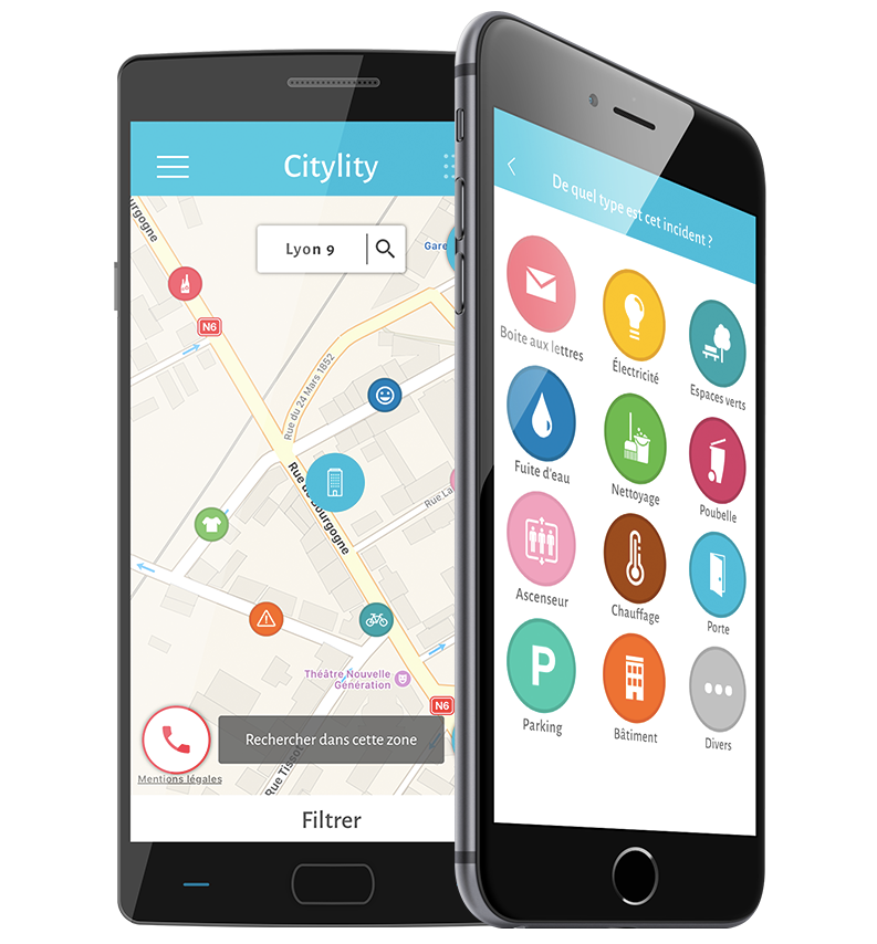 citylity_services_iphone_application